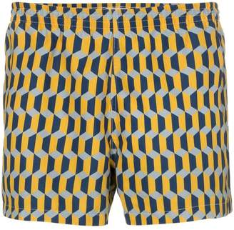 Trunks Timo graphic print swim shorts