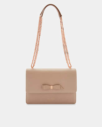 Ted Baker JOANAA Bow detail leather cross body bag