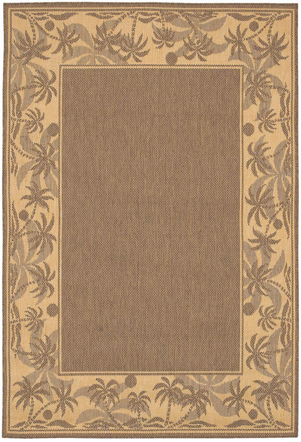 "Couristan Couristan Area Rug, Recife Indoor/Outdoor 1222/0722 Island Retreat Beige-Natural 2' 3"" x 11' 9"" Runner"