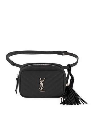 Saint Laurent Lou Quilted Belt Bag