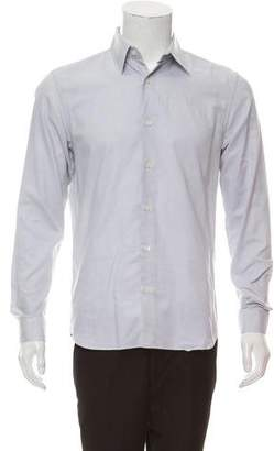 Calvin Klein Collection Spread Collar Button-Up