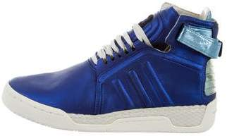 Y-3 x Adidas Hayworth High-Top Sneakers