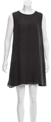 Rag & Bone Silk Sleeveless Mini Dress