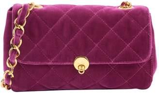 Anna Sui Pink Velvet Handbag
