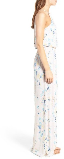 Women's Lush High Neck Maxi Dress 4