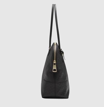 Gucci Bree Guccissima Leather Shoulder Bag