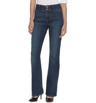 Apt. 9 Women's Tummy Control Curvy Midrise Bootcut Jeans