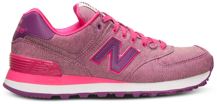 New Balance Women's 574 Glitch Casual Sneakers from Finish Line 5