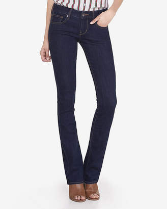 Express Low Rise Stretch Barely Boot Jeans