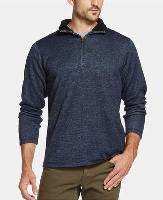 Weatherproof Vintage Men's 1/4 Zip Sweater Pullover