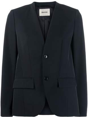 Zucca fitted blazer