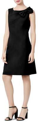 Betsey Johnson Scuba Crepe Bow-Detail Dress