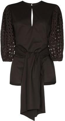 Johanna Ortiz Our Secret Life structured blouse