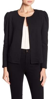 14th & Union Cropped Puff Shoulder Jacket (Regular & Petite)