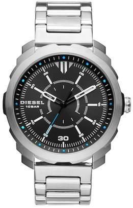 Diesel Men's Machinus Stainless Steel Bracelet Watch, 46mm