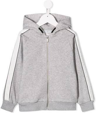 Givenchy Kids tonal logo stripe hoodie