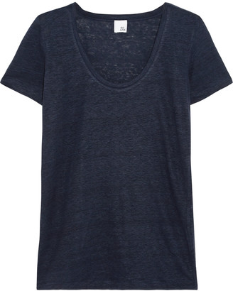 Iris and Ink Linen-jersey T-shirt $60 thestylecure.com