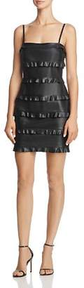Bailey 44 Dark Wave Faux Leather Dress