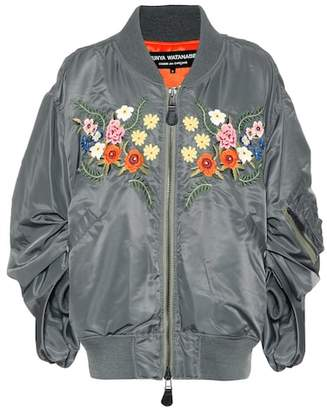 Junya Watanabe X COMME DES GARÇONS embroidered bomber jacket