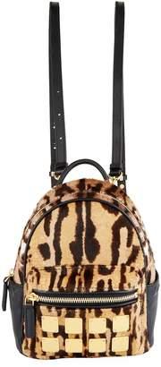 MCM X-Mini Leopard Print Stark Backpack