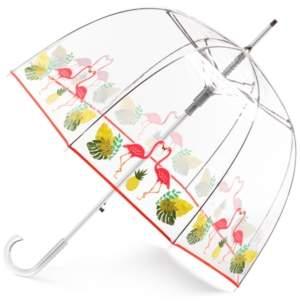 totes Auto-Open Clear Bubble Umbrella