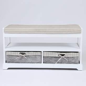 Celine Highland Dunes Upholstered Storage Bench