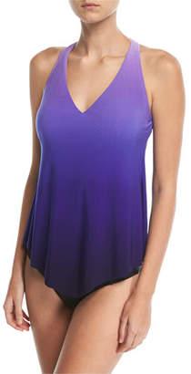 Magicsuit Taylor V-Neck Ombre Tankini Swim Top