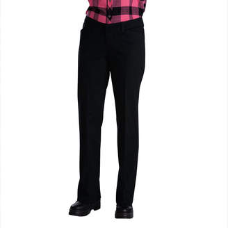 Dickies misses Relaxed-Fit Straight Leg Stretch Twill Pants - Petite