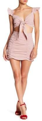 EMORY PARK Gingham Mini Skirt