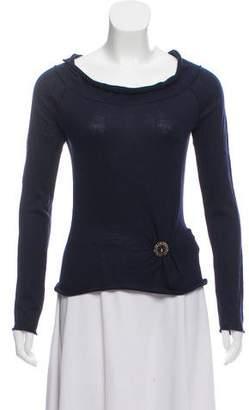 Miu Miu Cashmere & Silk-Blend Sweater