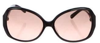 Tory Burch Gradient Logo Sunglasses