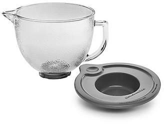 KitchenAid 5-Quart Tilt-Head Hammered Lidded Glass Bowl