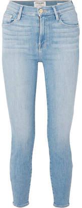 Frame Ali High-rise Skinny Jeans - Mid denim