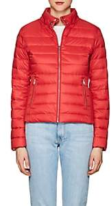 William Rast WOMEN'S DOWN PUFFER BOMBER JACKET-RED SIZE M