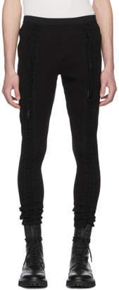 Julius Black Laced Lounge Pants