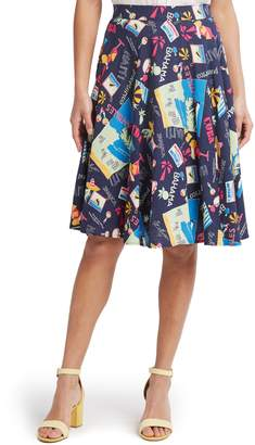 ModCloth Just This Sway A-Line Skirt