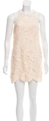 Lovers + Friends Sleeveless Lace Embroidered Dress w/ Tags