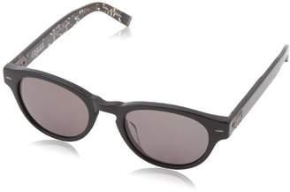 John Varvatos Men's V794 Round Polarized Sunglasses