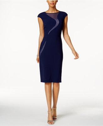 Jax Illusion Swirl Sheath Dress $138 thestylecure.com