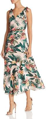 Sam Edelman Sleeveless Flamingo-Print Dress