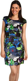 Mac & Jac  Early Spring Floral Cap Sleeve Dress