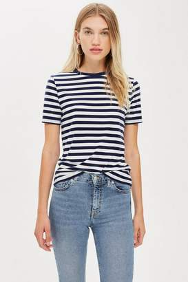 Topshop Premium Striped T-Shirt