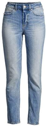 Rebecca Taylor Ines Juliette Faded Whiskered Jeans