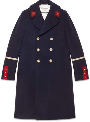 Wool cashmere coat $3,250 thestylecure.com