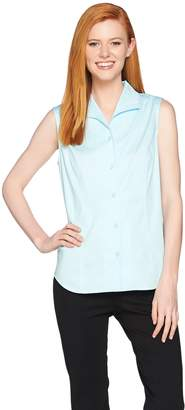 Linea By Louis Dell'olio by Louis Dell'Olio Wing Collar Sleeveless Blouse