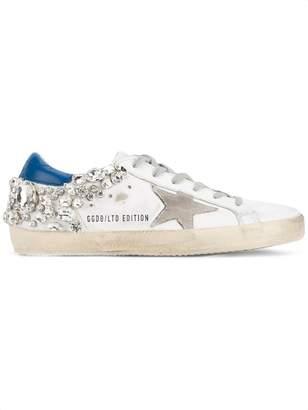 Golden Goose crystal embellished 'Superstar' sneakers