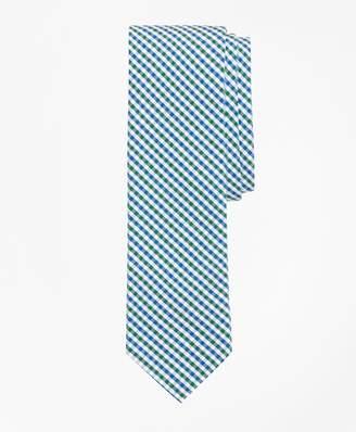Brooks Brothers Gingham Seersucker Tie