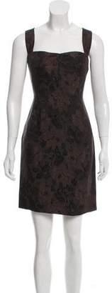 Dolce & Gabbana Jacquard Mini Dress