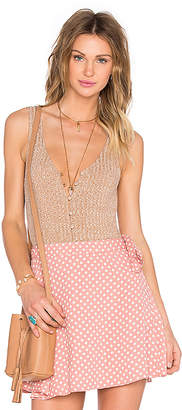 Privacy Please Gyle Bodysuit in Beige $74 thestylecure.com