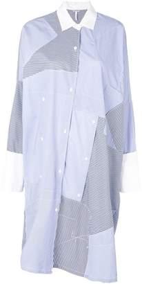Loewe patchwork shirtdress
